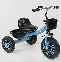 """*Детский велосипед """"Гномик"""" трехколесный BestTrike (голубой) арт. 4405"""