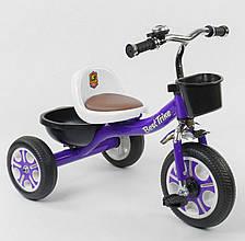 """*Детский велосипед """"Гномик"""" трехколесный BestTrike (фиолетовый) арт. 1355"""