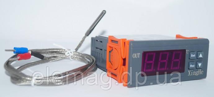 +999°C Терморегулятор с сигнализацией  XH-W2030 220V