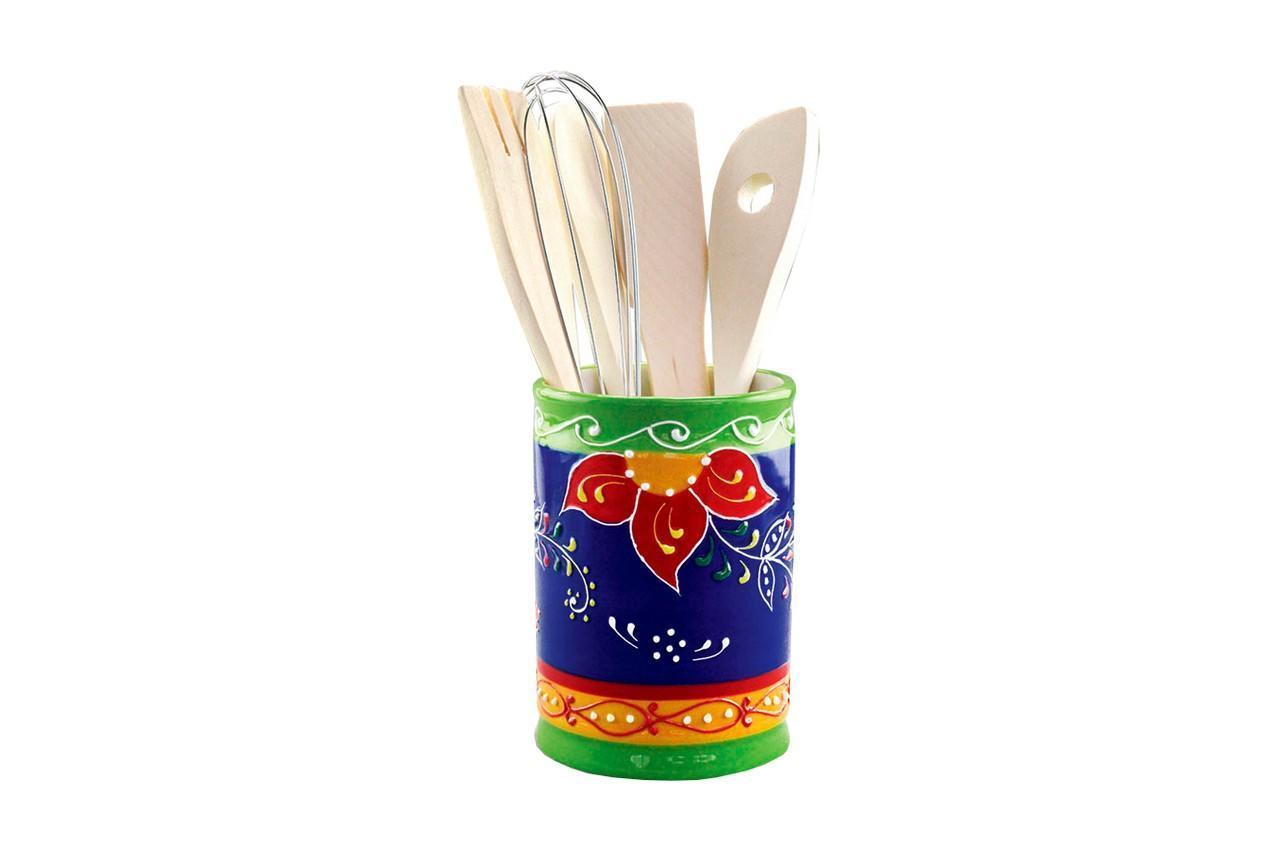 """Кухонный набор керамический Maestro - 5 ед. """"цветы"""" MR-20007-47 (MR-20007-47)"""