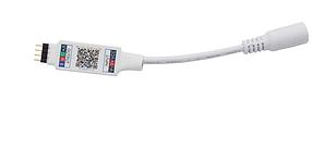 Bluetooth мини контроллер для LED RGB ленты  SL-02NANO 6А 5-24V Код. 59727