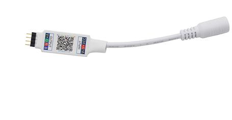 Bluetooth мини контроллер для LED RGB ленты  SL-02NANO 6А 5-24V Код. 59727, фото 2
