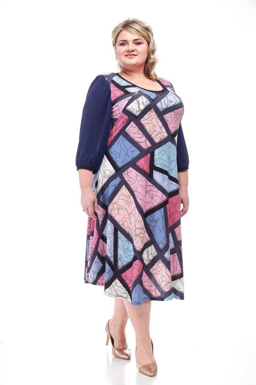 Платье,большие размеры от 62 до 68