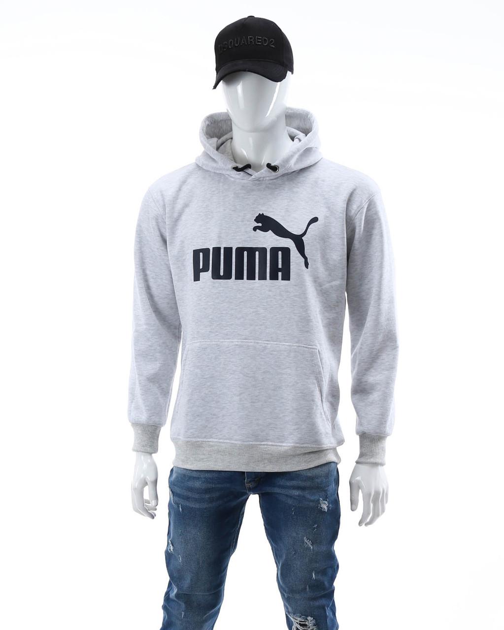 Худи осень-зима меланж PUMA Т-2 GRI XL(Р) 20-477-203