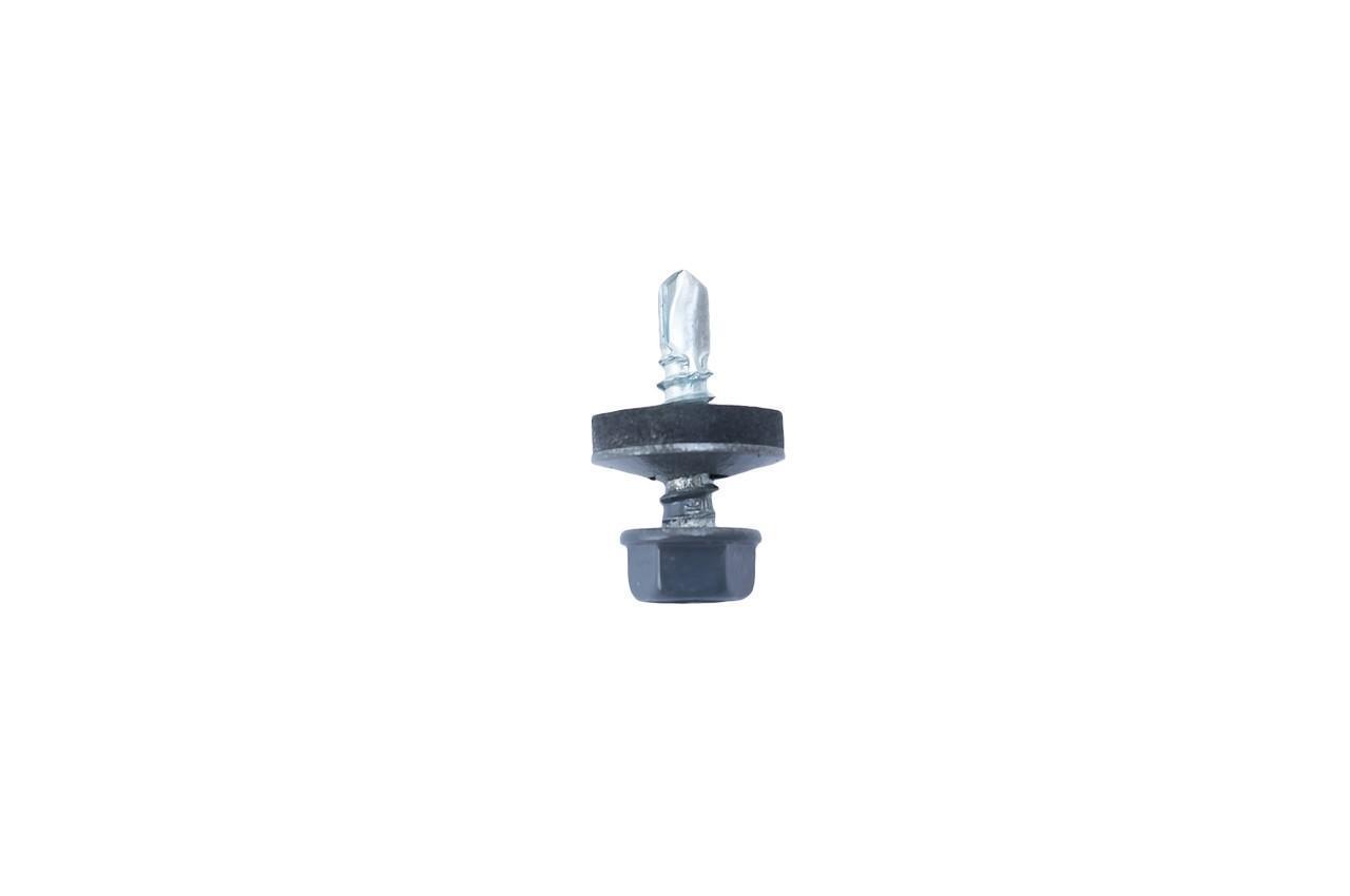 Саморез кровельный Sroub - 4,8 x 19 мм RAL7024 (250 шт.) (106041)
