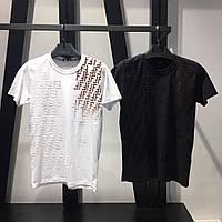 Мужская футболка Fendi CK209 белая