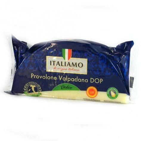 Сир Твердий Italiamo Provolone valpadana DOP dolce 300 гр, фото 2