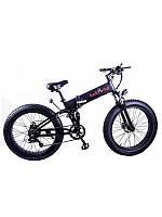 "Электровелосипед складной фетбайк Kelb E-1911WS 26"" 350W, 48V  10Ah Li Shimano  PAS, фото 1"