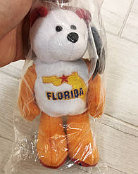 Мягка колекційна іграшка з монетою США Limited Treasures Quarter Bear 27th- Florida