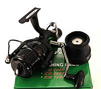 Катушка с бейтраннером Feima XH-7000 (8bb) конусообразная шпуля