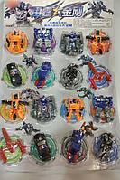 Набор трансформеров, пластик, собираются в машинку, на листе WK-27 16шт\уп.