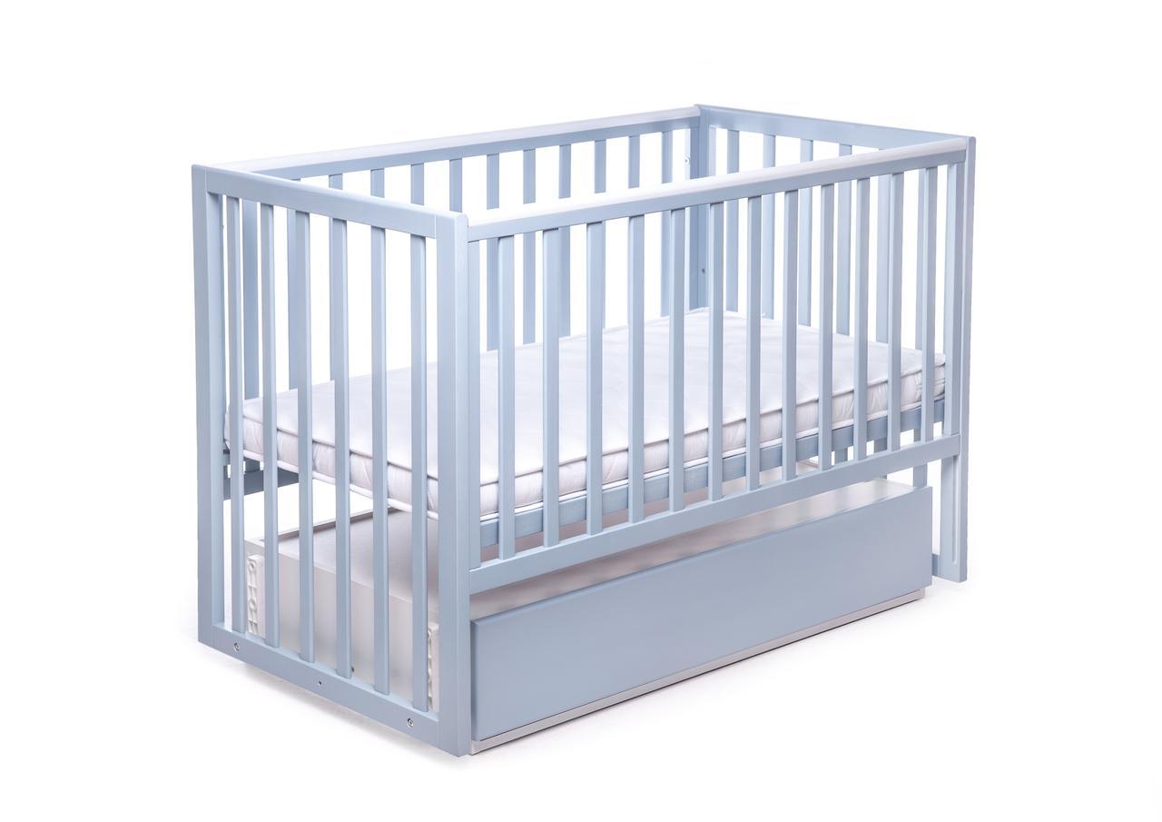 Кровать Квадрат DeSon с шуфлядой (Charivne), синий