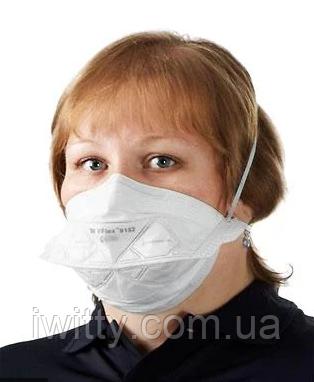 Маска медична для особи Спецмедпошив 3M 9101 (25 МАСОК), фото 2