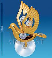 """Фигурка на липучке """"Голубь"""" 8,5x7,5x11 см., Crystal Temptations, США"""