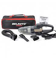 Пылесос автомобильный Belauto Тайфун BA55-B 110W для сухой и влажной чистки циклон. фильтр/LED