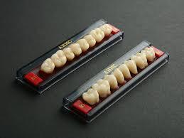 3хслойные зубы,жевательные, планка, цвет А3,5