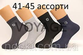 Мужские носки средние стрейчевые с хлопка SL КЛ 41-45 ассорти