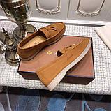 Лофери замшеві від Лоро Піано 35-45 р, шкіряна репліка, фото 8