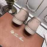 Лофери замшеві від Лоро Піано 35-45 р, шкіряна репліка, фото 3