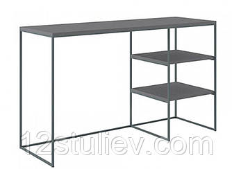 Стол  письменный BIU/140 Мерс МДФ серый