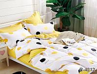 Комплект постельного белья с компаньоном ранфорс ТМ TAG Евро / комплект постільної білизни