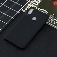 Чехол Soft Touch для Samsung Galaxy A10s (A107) силикон бампер черный