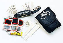 Набор инструментов для ремонта велосипеда 16 в 1.