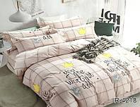 Комплект постельного белья ранфорс ТМ TAG Евро / комплект постільної білизни