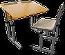 Парта 2 антисколиозная и школьный стул, фото 6