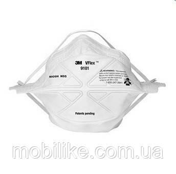 Медицинская маска респиратор 3M 9101 (100 МАСОК)