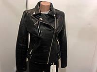 Куртка кожзам, женская,  S, № 1444