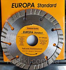 Алмазный диск 125мм 22,2 Европа Turbo Segment
