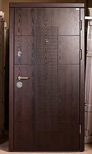 Входная дверь с Полмерной накладкой, металл 1.5 мм.
