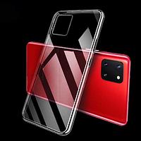Ультратонкий 0,3 мм чехол на Samsung Galaxy Note 10 Lite  прозрачный