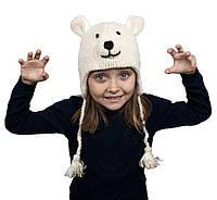 Шапка детская Animals Polar bear Kathmandu Оne size Бежевый 22903, КОД: 1597243