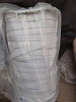 Резинка бельевая 8 мм белая | Бельевая резинка 8 мм | Катушка 100 м