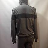 Р. ххл Чоловічий спортивний костюм в стилі Nike (репліка) сірий відмінної якості, фото 10