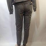 Р. ххл Чоловічий спортивний костюм в стилі Nike (репліка) сірий відмінної якості, фото 9