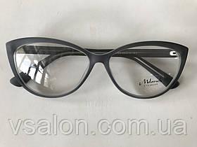 Женские имиджевые очки Melorsch 2007 Серый