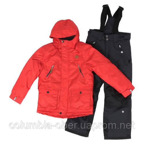 Зимний костюм для мальчика SNO F18M307 Team Red/Deep Gray. Размеры 7 - 16 лет.