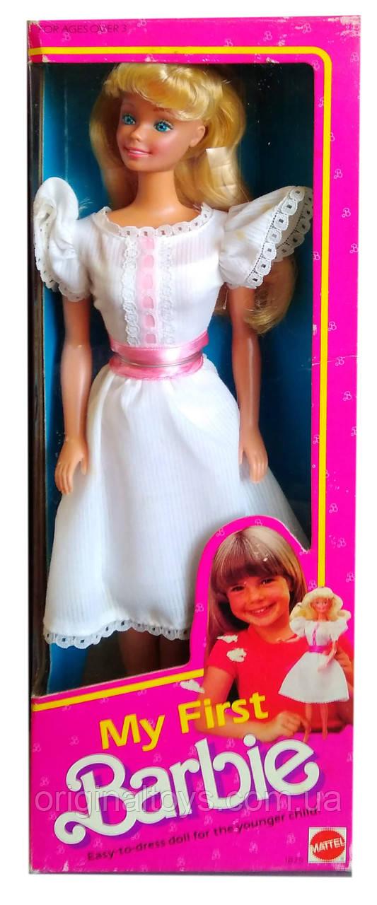 Коллекционная кукла Моя первая Барби My First Barbie 1984 Mattel 1875