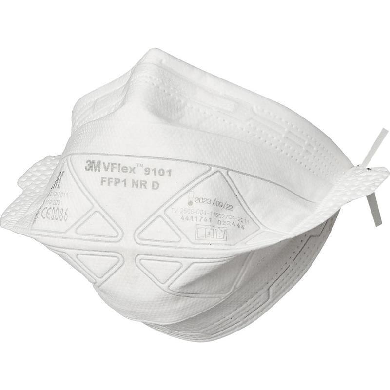 ОРИГИНАЛЬНЫЕ медицинские маски (пропаяные) 3M 9101 (250 МАСОК)
