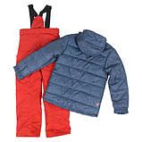 Зимний костюм для мальчика SNO F18M313 Blue Night/Old Carrot. Размеры 7 - 16 лет., фото 6