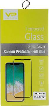 Захисне скло Veron Slim Full Cover — iPhone XS Max ; iPhone 11 Pro Max— Black/Breidon/