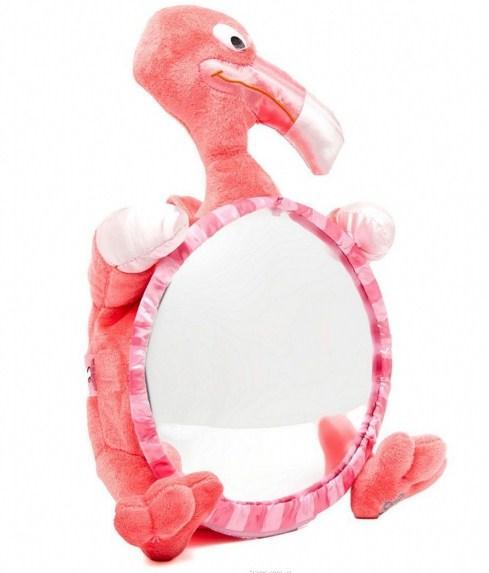 """Іграшка дитяче дзеркальце в автомобіль """"Фламінго"""" №30111"""