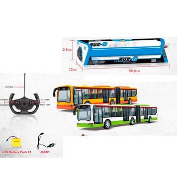 Автобус на керув.,44,5см,світ.,USB зар.2 види,в кор-ці.,57х12,5х12см №666-676A(24)