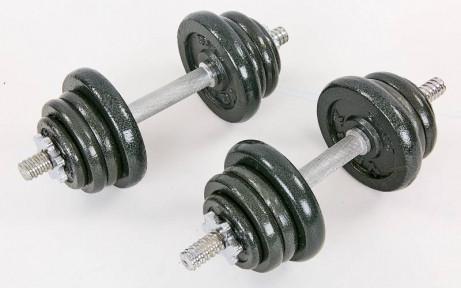 Гантели разборные Sportmaydan (2шт) стальные 25кг