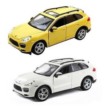 """Автомодель """"Bburago"""" Porsche Cayenne Turbo (1:24) асорті №18-21056/КіддіСвіт/(1)"""
