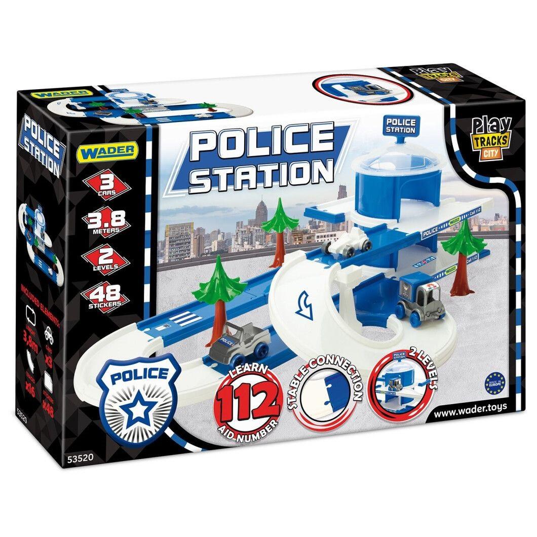 "Трек ""Play Tracks City"" набір поліція №53520/Тигрес/"