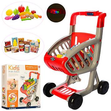 Візок Супермаркет 39х49х29см,продукти 41шт,у кор-ці,43х50х13,5см №922-72(12)